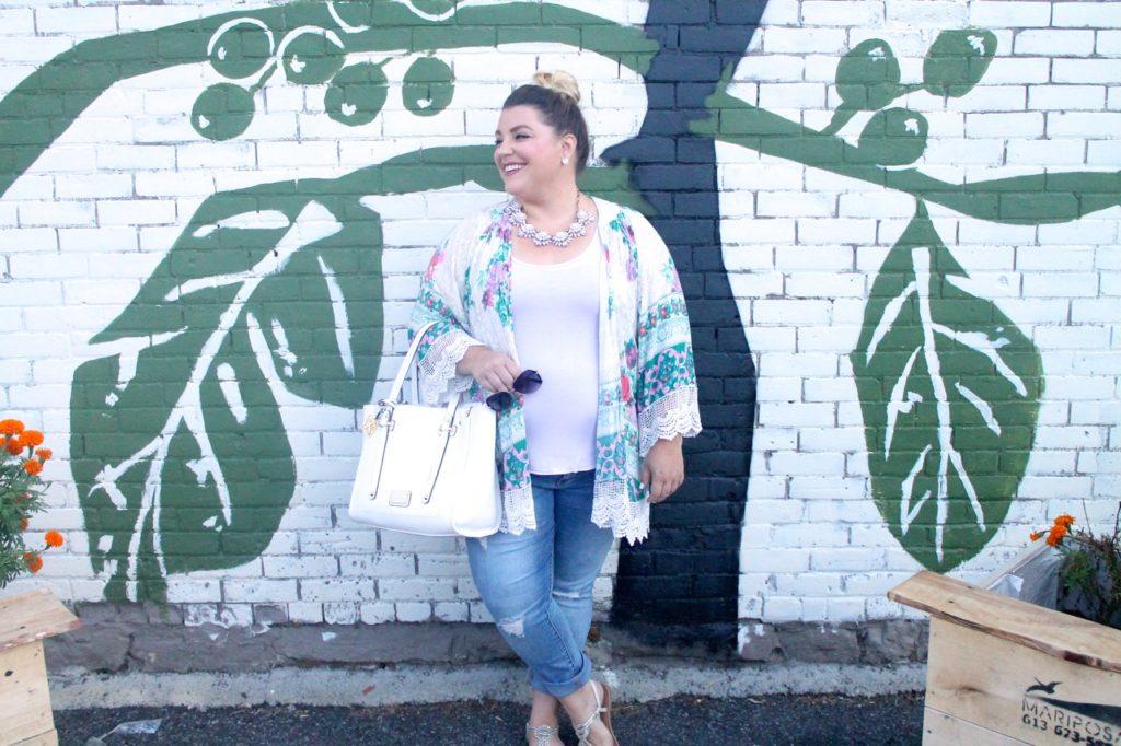kimono fashion outfit of the day