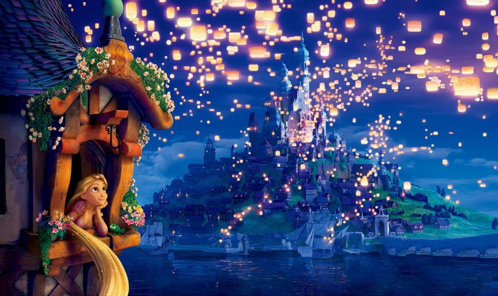 Tangled Netflix Family Movie Night