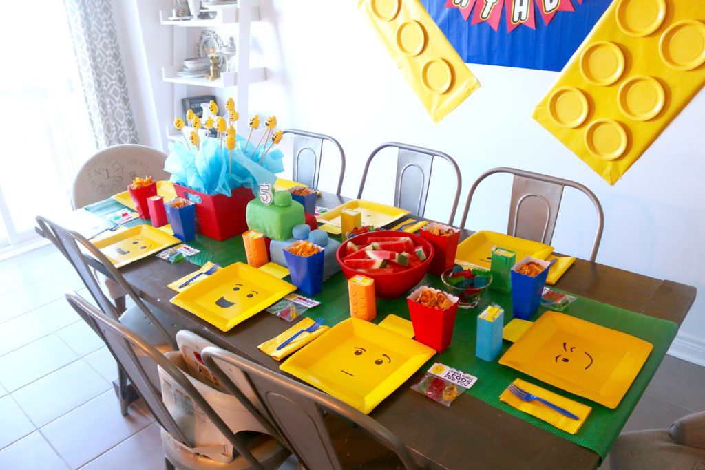 kids lego birthday party