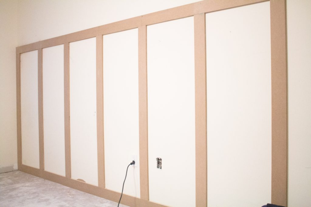 board and batten how to one room challenge