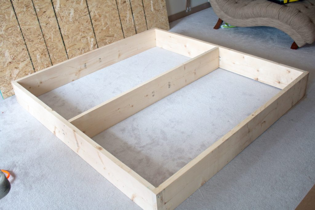 diy platform bed master bedroom one room challenge