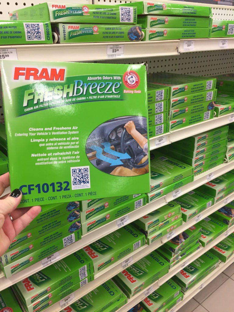 fram fresh air filter