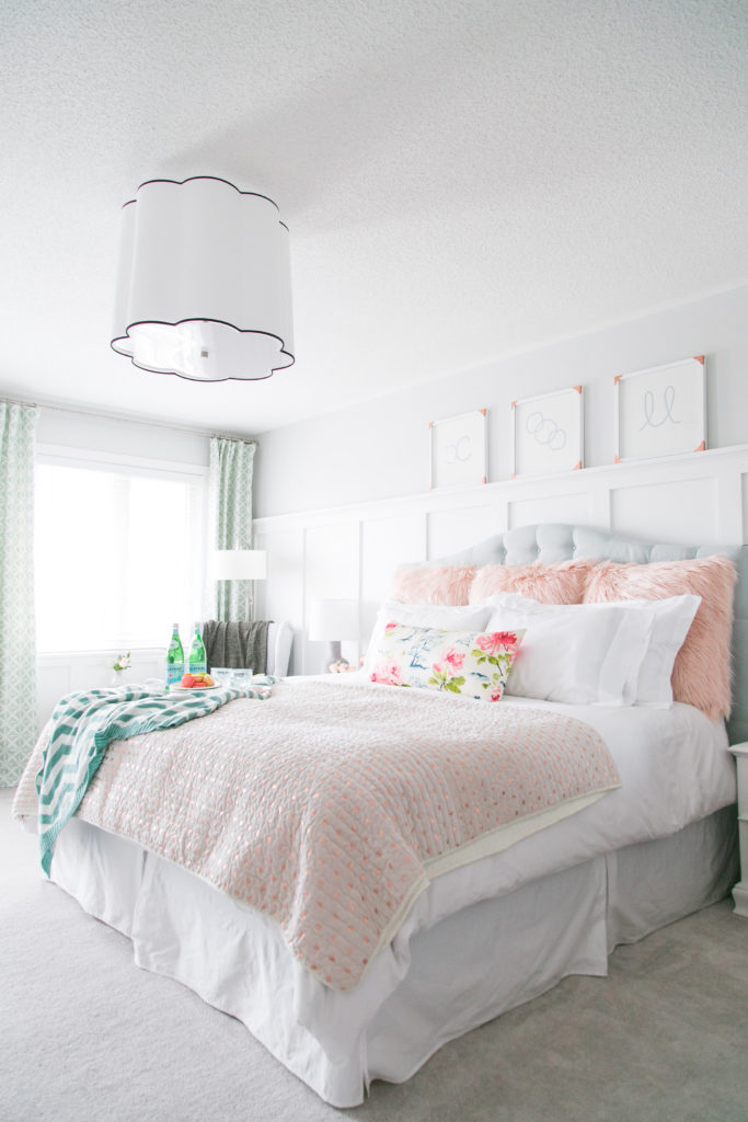 master bedroom home tour one room challenge