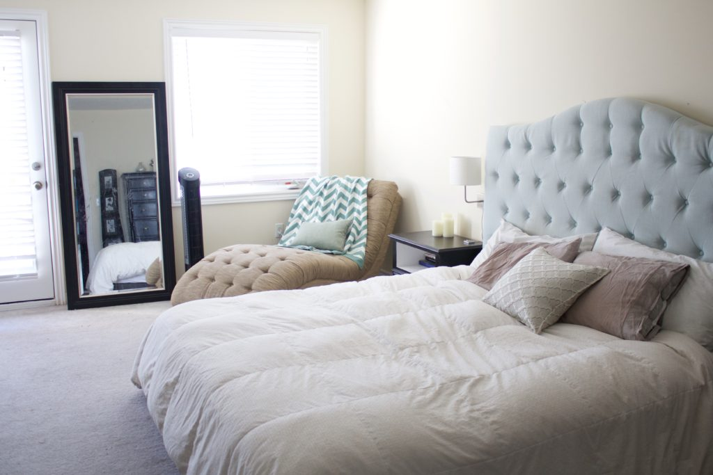 master bedroom makeover one room challenge