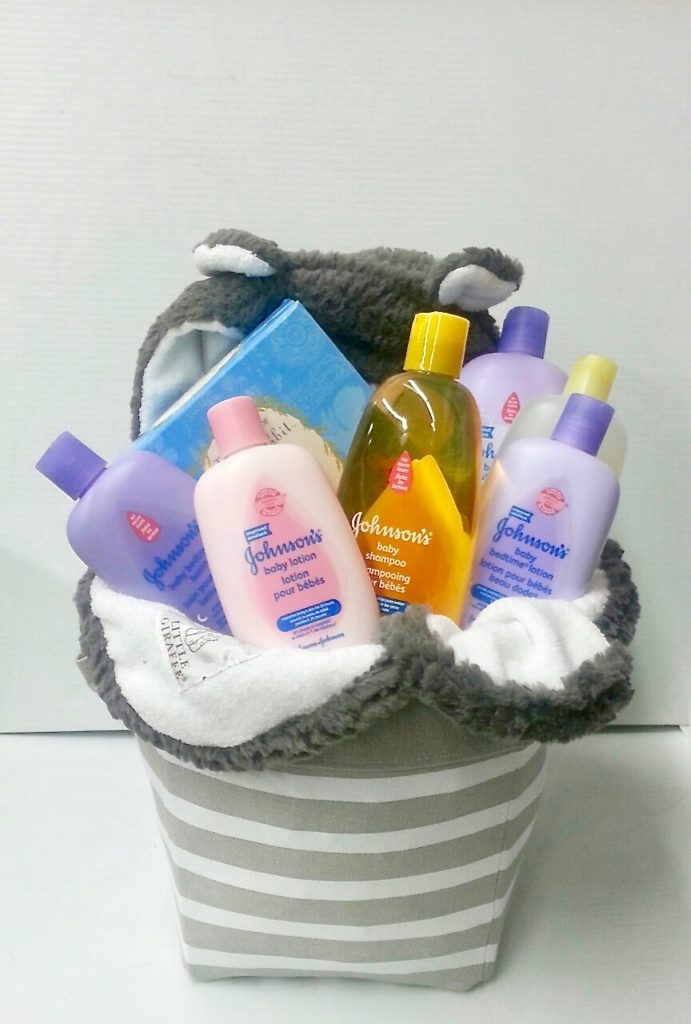 Johnson's-Baby-Gift-Basket