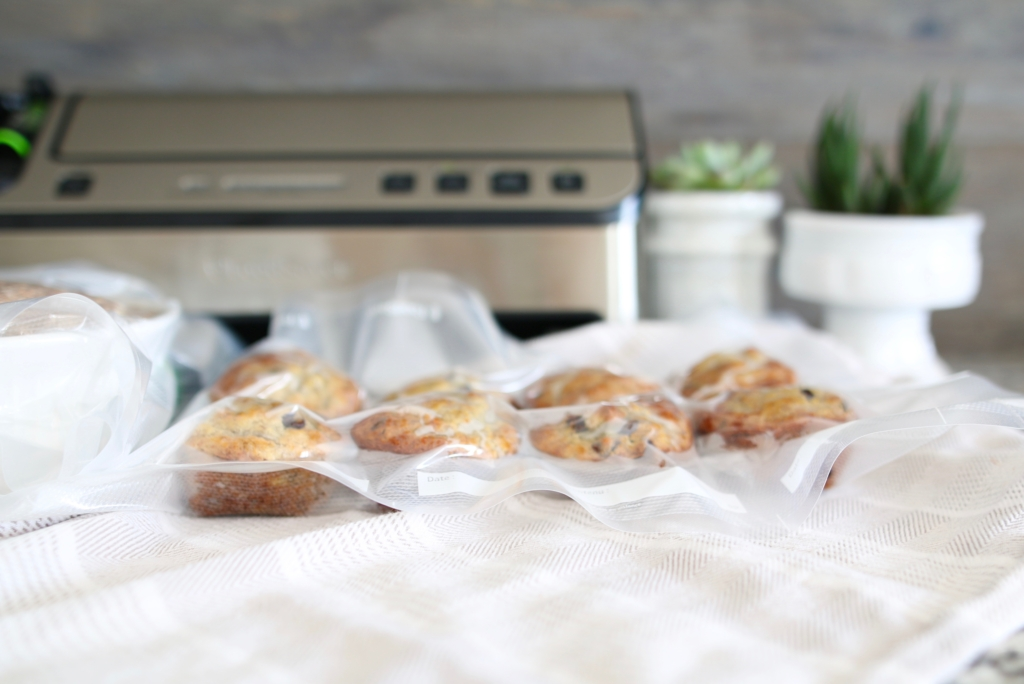 holiday baking with foodsaver