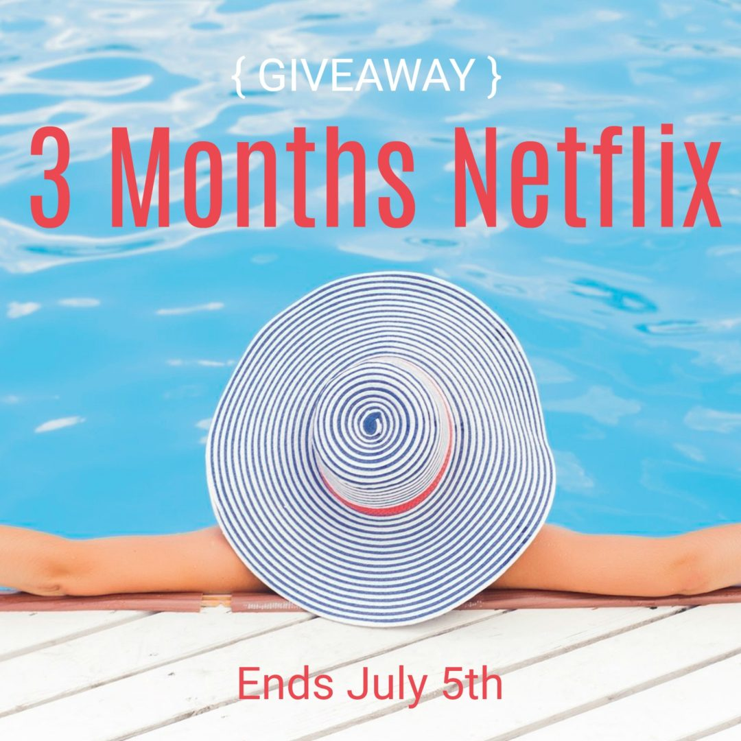 Down Time with Netflix Plus Giveaway - Amidst the Chaos