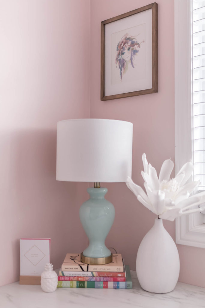 When I Came Across The Colour Stolen Kiss MQ3 34 From The BEHR MARQUEE®  Interior One Coat Colour Collection, I Was SOLD! It Was A Perfect  Peachy Pink, ...